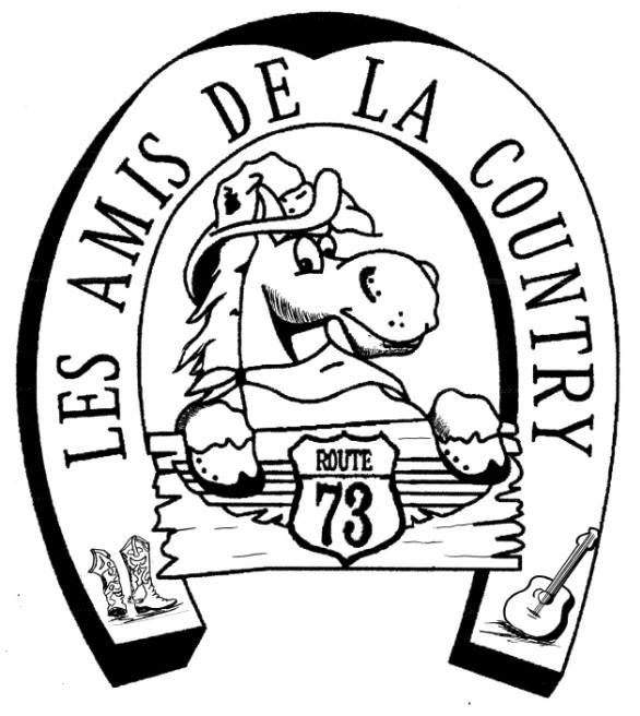 LOGO LES AMIS DE LA COUNTRY 73