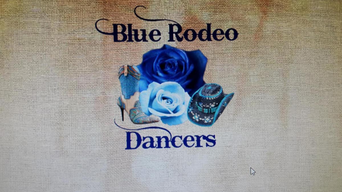 LOGO BLUE RODEO DANCERS