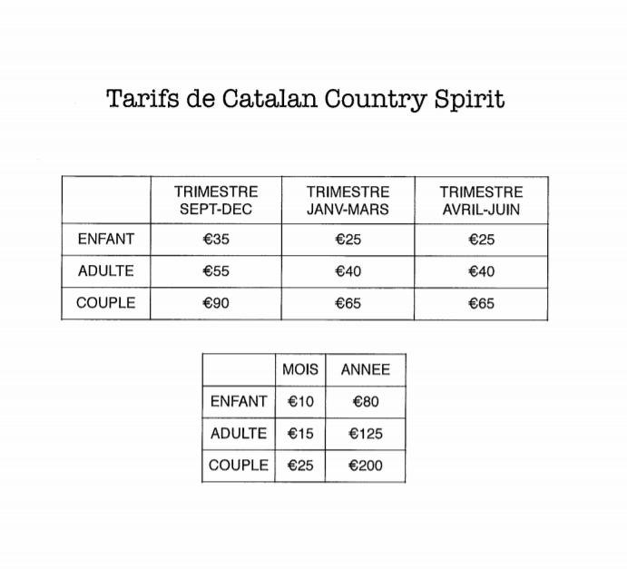 Capture tarif