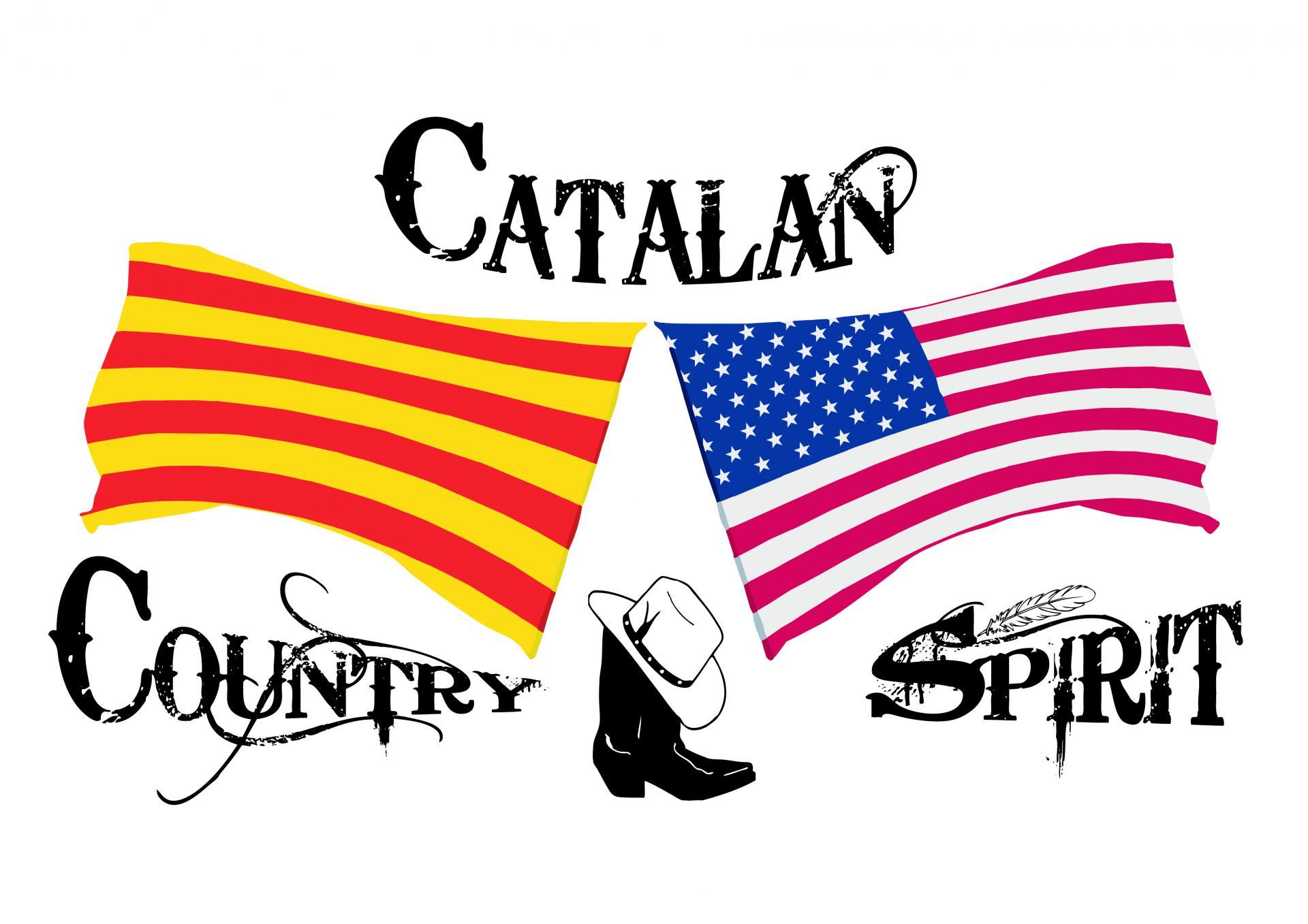 Logo catalan country spirit cmjn
